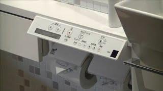 シャワートイレのインテリアリモコンの電池交換
